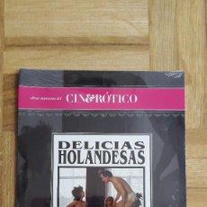 Cine: PELICULA DVD - CINE EROTICO - DELICIAS HOLANDESAS - RONNIE BIERMAN - SYLVIA DE LEUR - PRECINTADA. Lote 171518633