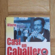 Cine: PELICULA DVD - CASI UN CABALLERO - ALBERTO CLOSAS - ALFREDO LANDA - JOSE LUIS LOPEZ VAZQUEZ - CONCHA. Lote 171520174