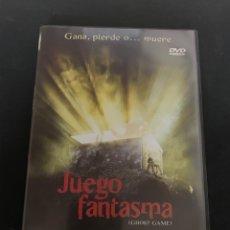 Cine: ( S92 ) JUEGO DE FANTASMAS ( DVD SEGUNDA MANO COMO NUEVO ). Lote 171525550