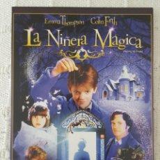 Cine: CINE DVD / LA NIÑERA MÁGICA (NUEVA A ESTRENAR, ESTUCHE DE CARTÓN) . Lote 171526420