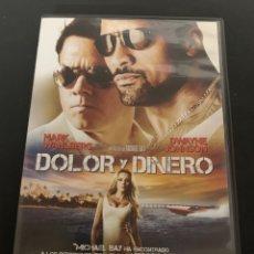 Cine: ( S103 ) DOLOR Y DINERO - DWAYNE JOHNSON ( DVD SEGUNDA MANO COMO NUEVO ). Lote 171526558