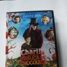 Cine: CHARLIE Y LA FÁBRICA DE CHOCOLATE (JOHNNY DEPP). Lote 171526772