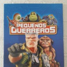 Cine: CINE DVD / PEQUEÑOS GUERREROS (NUEVA A ESTRENAR, ESTUCHE DE CARTÓN) . Lote 171526935