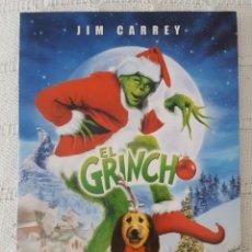 Cine: CINE DVD / EL GRINCH (NUEVA A ESTRENAR, ESTUCHE DE CARTÓN) . Lote 171527027
