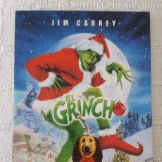 Cine: CINE DVD / EL GRINCH (NUEVA A ESTRENAR, ESTUCHE DE CARTÓN) . Lote 171527078