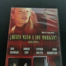 Cine: ( S103 ) QUIEN MATÓ A JOY MORGAN - KIM BASINGER ( DVD SEGUNDA MANO COMO NUEVO ). Lote 171527093