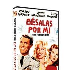 Cine: BÉSALAS POR MÍC - DVD NUEVO Y PRECINTADO - CARY GRANT - JAYNE MANSFIELD - STANLEY DONEN. Lote 171567940