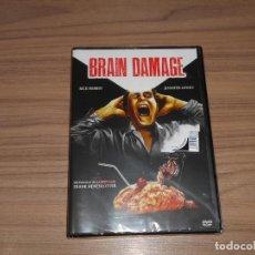 Cine: BRAIN DAMAGE DVD TERROR NUEVA PRECINTADA. Lote 278678223