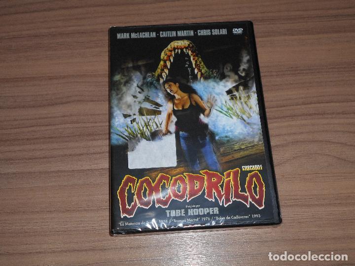 COCODRILO DVD TOBE HOOPER TERROR NUEVA PRECINTADA (Cine - Películas - DVD)