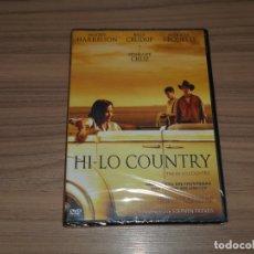 Cine: HI-LO COUNTRY DVD WOODY HARRELSON PATRICIA ARQUETTE PENELOPE CRUZ NUEVA PRECINTADA. Lote 171589379