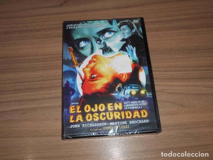 EL OJO EN LA OSCURIDAD DVD TERROR NUEVA PRECINTADA (Cine - Películas - DVD)