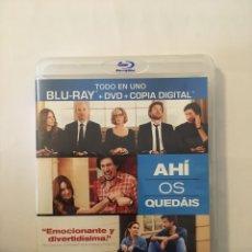 Cine: AHÍ OS QUEDÁIS DVD BR. Lote 171606714