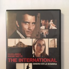 Cine: THE INTERNATIONAL. Lote 171606815