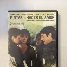 Cine: PINTAR O HACER EL AMOR. Lote 171606962