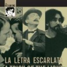 Cine: PACK WIM WENDERS - LA LETRA ESCARLATA, A TRICK OF THE LIGHTS, NOTEBOOK ON CITIES AND CLOTHES. Lote 171615410