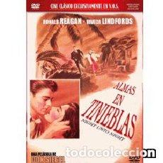 Cine: ALMAS EN TINIEBLAS DIRECTOR: DON SIEGEL ACTORES: RONALD REAGAN, VIVECA LINDFORS, BRODERICK CRAWFORD. Lote 171628473