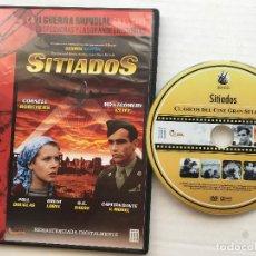 Cine: SITIADOS GEORGE SEATON LA II GUERRA MUNDIAL EN EL CINE WWII KREATEN. Lote 171634030