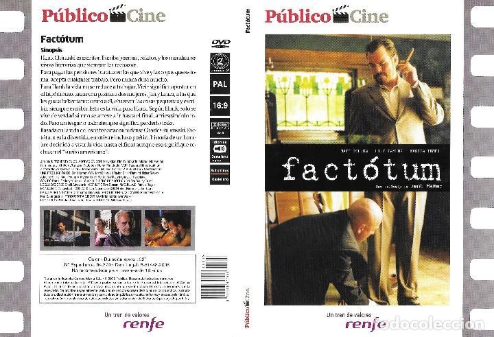 FACTÓTUM - BENT HAMER (Cine - Películas - DVD)