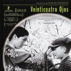 Cine: VEINTICUATRO OJOS - KEISUKE KINOSHITA. Lote 171638400