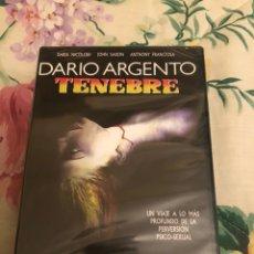Cine: TENEBRE DE DARÍO ARGENTO DVD PRECINTADO. Lote 171668024