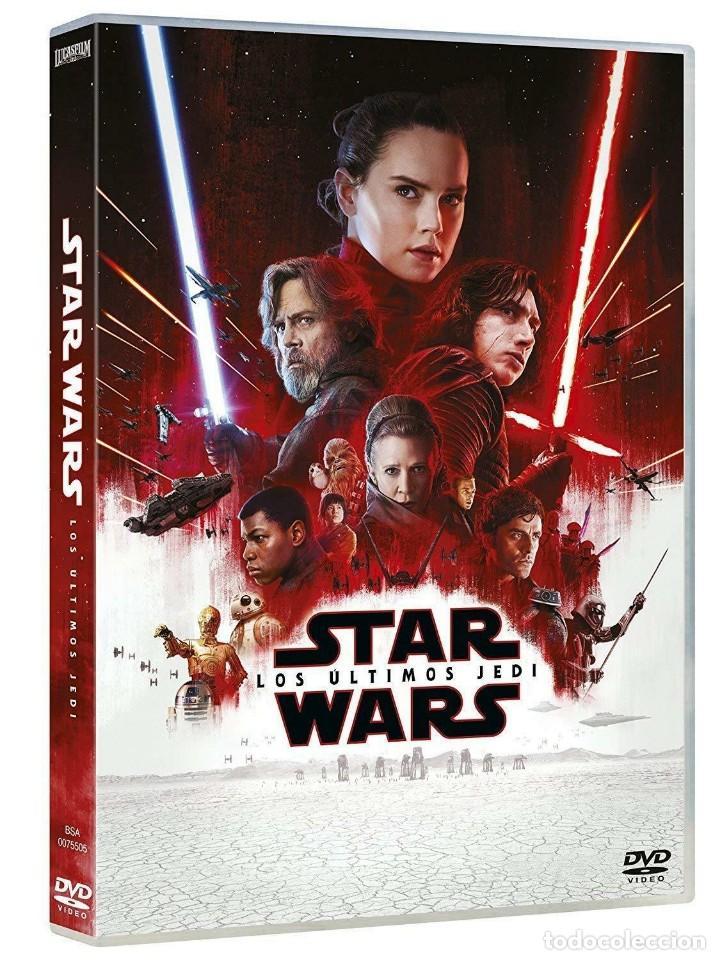 PELICULA DVD STAR WARS: LOS ÚLTIMOS JEDI NUEVO PRECINTADO *** EDIC. ESPAÑOLA *** (Cine - Películas - DVD)