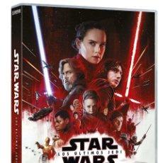 Cine: PELICULA DVD STAR WARS: LOS ÚLTIMOS JEDI NUEVO PRECINTADO *** EDIC. ESPAÑOLA ***. Lote 171685714