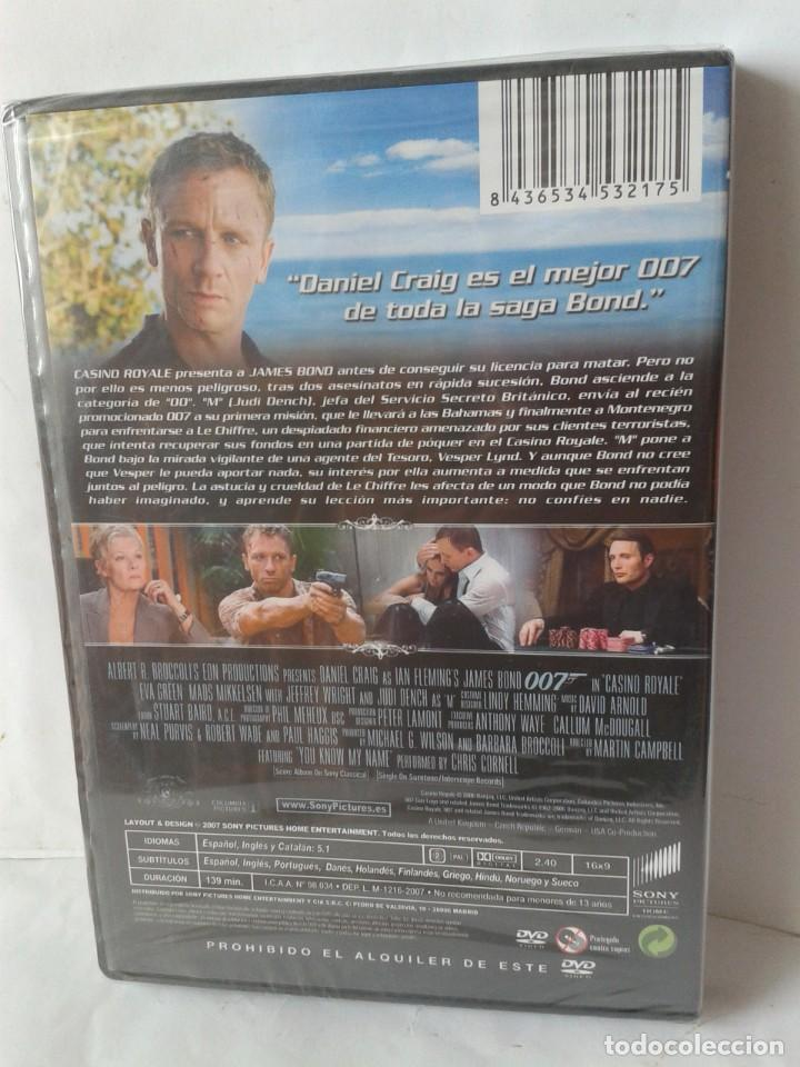 Cine: CASINO ROYALE DANIEL CRAIG DVD NUEVO - Foto 2 - 171745488