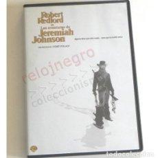 Cine: LAS AVENTURAS DE JEREMIAH JOHNSON - DVD PELÍCULA DEL OESTE - ROBERT REDFORD - SIDNEY POLLACK CAZADOR. Lote 171783542