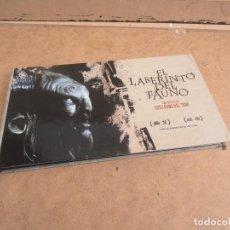 Cine: EL LABERINTO DEL FAUNO - 2 DVD + LIBRO DIRECTOR: GUILLERMO DEL TORO. Lote 172012948