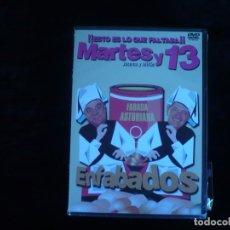 Cine: MARTES Y 13 ENFABADOS - DVD NUEVO PRECINTADO. Lote 179397011