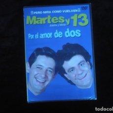 Cine: MARTES Y 13 POR EL AMOR DE DOS - DVD NUEVO PRECINTADO. Lote 179396936