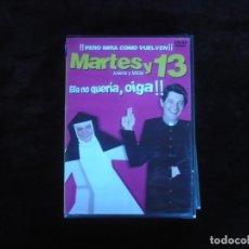 Cine: MARTES Y 13 ELLA NO QUERIA OIGA - DVD NUEVO PRECINTADO. Lote 179397052