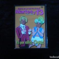 Cine: MARTES Y 13 ES POR ELLO OYE - DVD NUEVO PRECINTADO. Lote 179396961