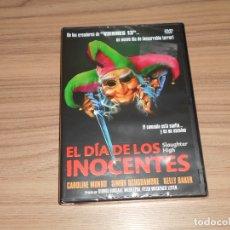 Cine: EL DIA DE LOS INOCENTES DVD DE LOS CREADORES DE VIERNES 13 TERROR NUEVA PRECINTADA. Lote 219470155