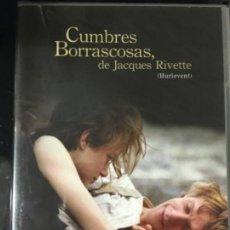 Cine: CUMBRES BORRASCOSAS DE JACQUES RIVETTE (NUEVA Y PRECINTADA). Lote 172053690