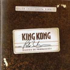 Cine: KING KONG DIARIOS DE PRODUCCIÓN ( 2 DISCOS). Lote 172076142