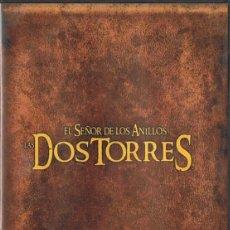 Cine: EL SEÑOR DE LOS ANILLOS LAS DOS TORRES VERSIÓN EXTENDIDA (4 DISCOS). Lote 172077218