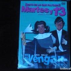 Cine: MARTES Y 13 VENGA - DVD NUEVO PRECINTADO. Lote 172112474