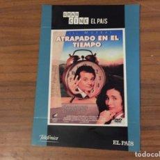 Cinéma: DVD ATRAPADO EN EL TIEMPO EL DÍA DE LA MARMOTA BILL MURRAY ANDIE MACDOWELL. Lote 172127604