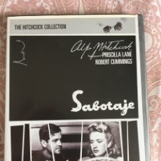 Cine: DVD-THE HITCHCOCK COLLECTION- SABOTAJE. Lote 172187847