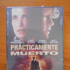 Cine: DVD PRACTICAMENTE MUERTO - ANDIE MACDOWELL - NUEVA, PRECINTADA (DP). Lote 172223168
