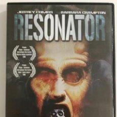 Cine: RESONATOR DVD DESCATALOGADO. Lote 172243333