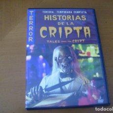 Cine: HISTORIAS DE LA CRIPTA / TERCERA TEMPORADA COMPLETA 2 DVD. Lote 172278803