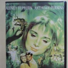 Cine: MANSIONES VERDES, DE MEL FERRER. CON AUDREY HEPBURN Y ANTHONY PERKINS. AÑO 1959. Lote 172309584