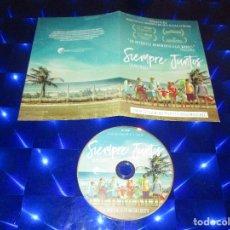 Cine: SIEMPRE JUNTOS ( BENZINHO ) - DVD - PROMOCIONAL - CANDIDATA A MEJOR PELICULA IBEROAMERICANA. Lote 172311224