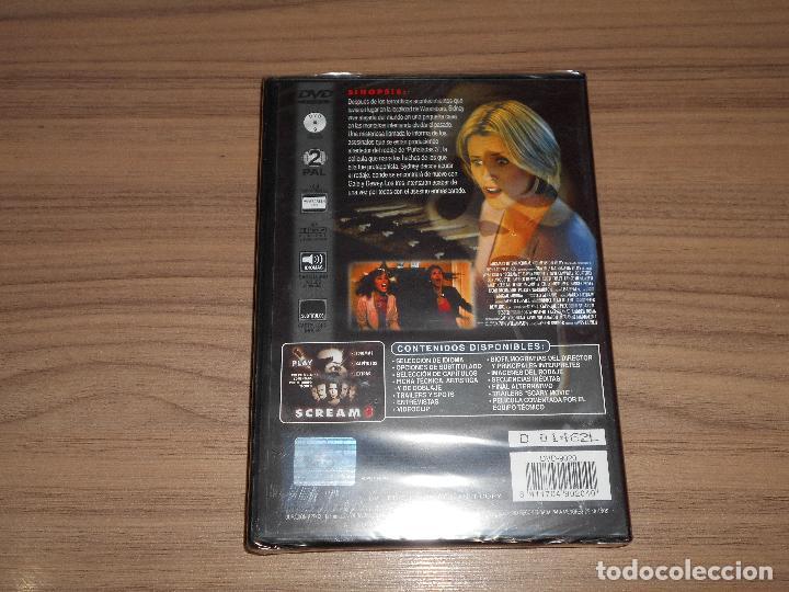 Cine: SCREAM 3 Edicion Especial DVD + Multitud de EXTRAS Wes Craven NUEVA PRECINTADA - Foto 2 - 180145958