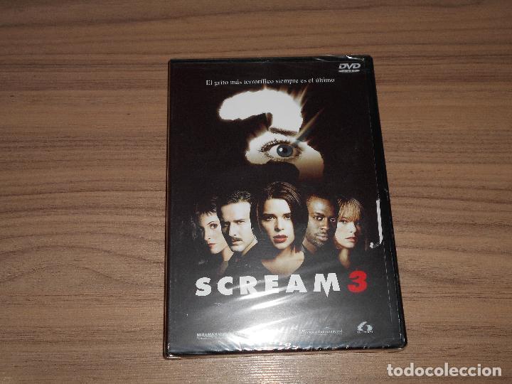 SCREAM 3 EDICION ESPECIAL DVD + MULTITUD DE EXTRAS WES CRAVEN NUEVA PRECINTADA (Cine - Películas - DVD)