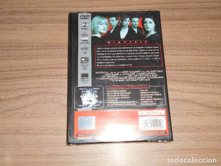 Cine: SCREAM Edicion Especial DVD + Multitud de EXTRAS Wes Craven NUEVA PRECINTADA - Foto 2 - 189558697