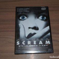 Cine: SCREAM EDICION ESPECIAL DVD + MULTITUD DE EXTRAS WES CRAVEN NUEVA PRECINTADA. Lote 189558697