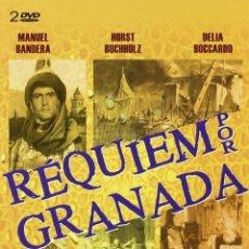 Cine: REQUIEM POR GRANADA [DVD] NUEVO Y PRECINTADO DESCATALOGADO. Lote 172416973